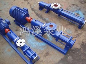 G型单螺杆泵浓浆泵